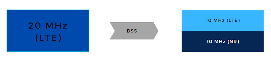 DSS for LTE and NR sharing