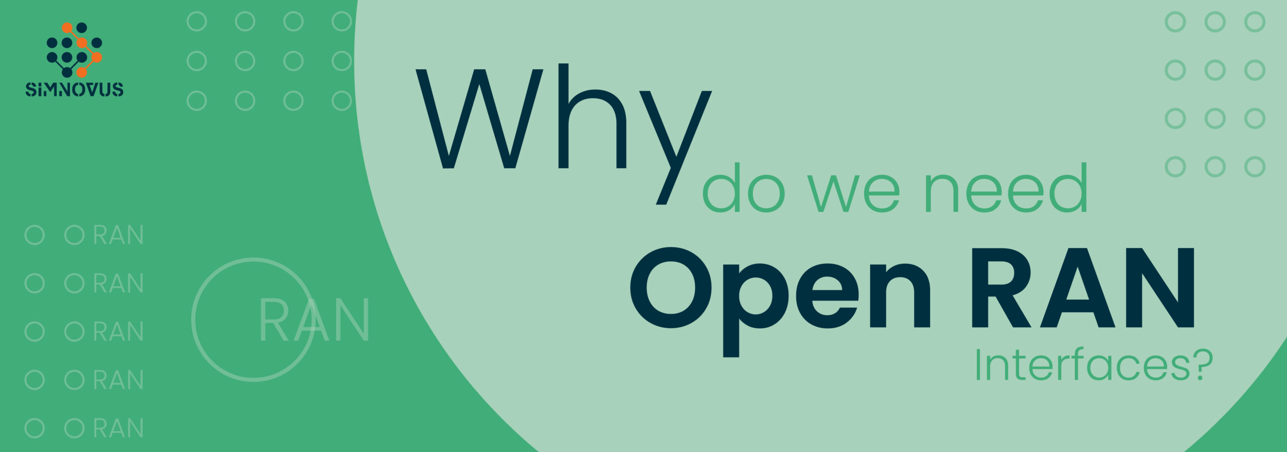 why-do-we-need-o-ran-when-we-already-have-3gpp-interfaces-that-are-open-and-standardized?